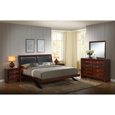 Plumcreek Panel 5 Piece Bedroom Set Size: King