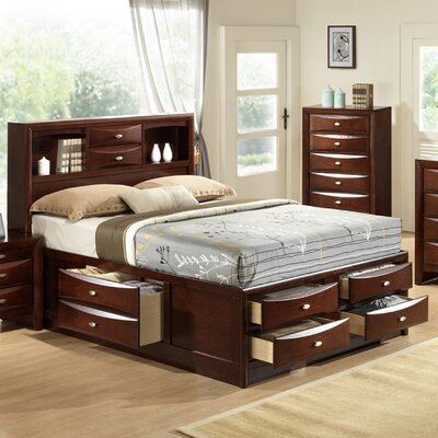 Plumcreek Platform Bed Size: King