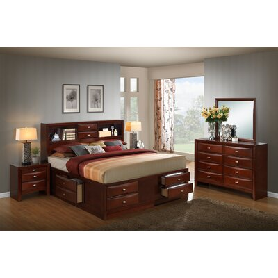 Plumcreek Platform 5 Piece Bedroom Set Size: King