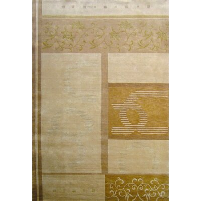 Pomeroy Himalayan Sheep Gold Indoor/Outdoor Area Rug Rug Size: 6 x 9