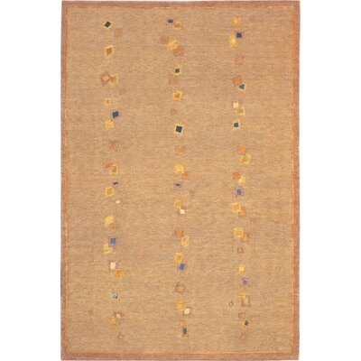 Bateson Sheep Tan Area Rug Rug Size: 6 x 9