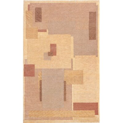 Pondview Himalayan Sheep Beige Area Rug Rug Size: Round 4