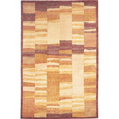 Bean Sheep Gold Area Rug Rug Size: 9 x 12