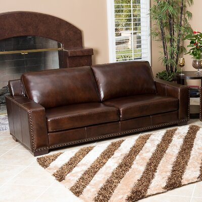 Potsdam Leather Loveseat