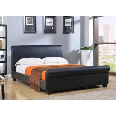 Powell Upholstered Sleigh Bed Size: Full