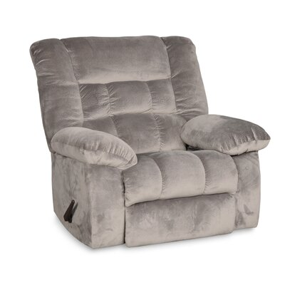 Prenda Oversized Swivel Glider Recliner Color: Gray