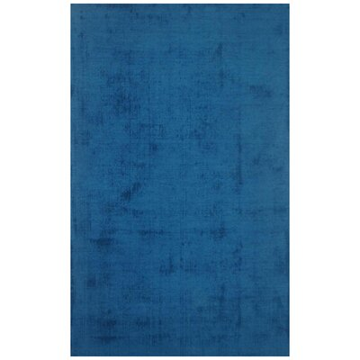 Milford Blue Area Rug Rug Size: 5 x 8
