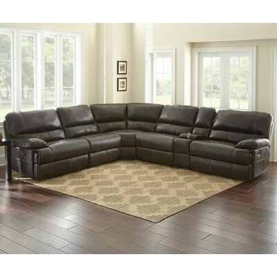 Birch Hill Leather Sectional