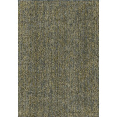 Diamondine Blue/Green Area Rug Rug Size: 71 x 101