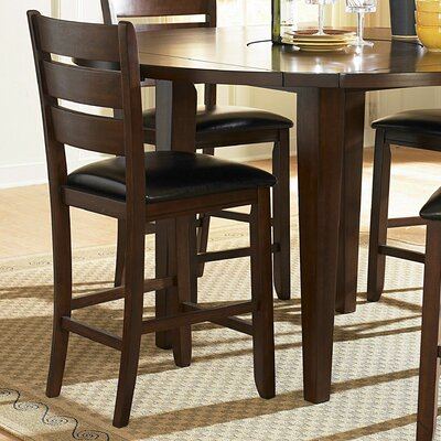 Bannister 24 inch Bar Stool with Cushion (Set of 2)