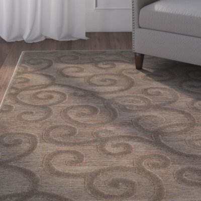 McCarthy Brown/Gray Area Rug Rug Size: 66 x 96