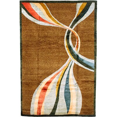 Belcara Himalayan Sheep Brown Indoor/Outdoor Area Rug Rug Size: 9 x 12