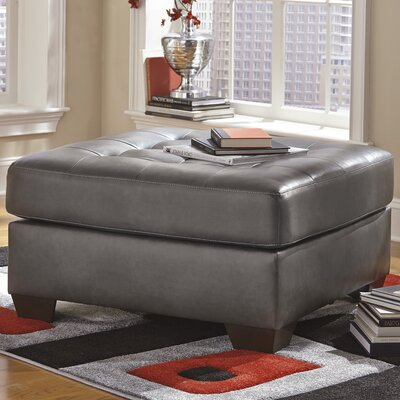 Bellville Oversized Ottoman Upholstery: Grey