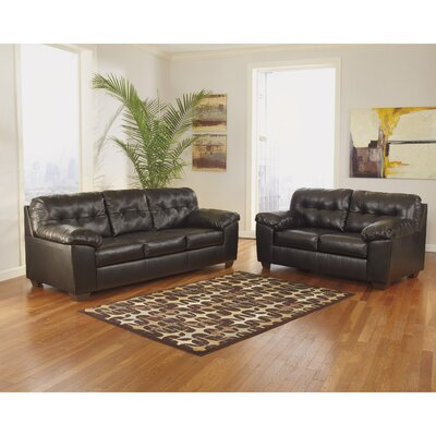 Bellville 2 Piece Living Room Set Upholstery: Cappucino