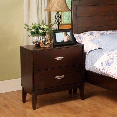 Bentonville 2 Drawer Nightstand