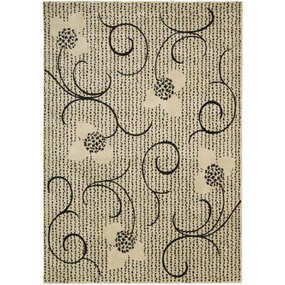 Blackwell Ivory Area Rug Rug Size: Rectangle 96 x 13