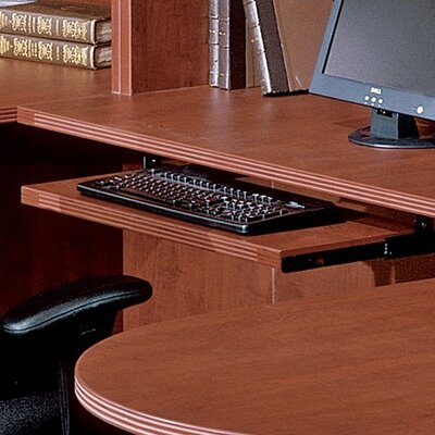 Blairview 26 W Desk Keyboard Tray Finish: Cherry
