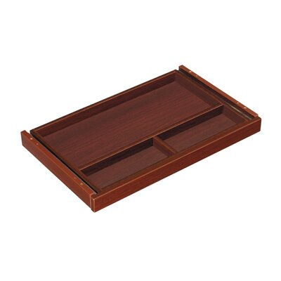 Blairview 20 W x 15 D Desk Drawer Finish: Mahogany