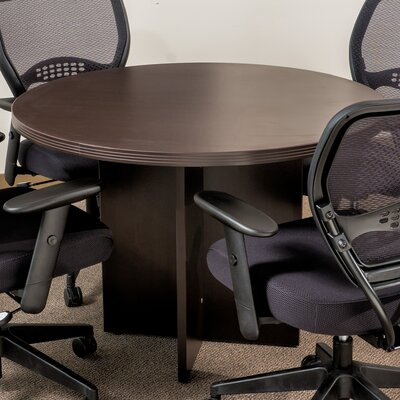Blairview Circular Conference Table Top Finish: 42 Diameter, Finish: Espresso