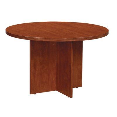 Blairview Circular Conference Table Top Finish: 47 Diameter, Finish: Cherry