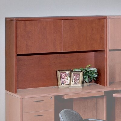Blairview 36 H x 48 W Desk Hutch Finish: Mahogany