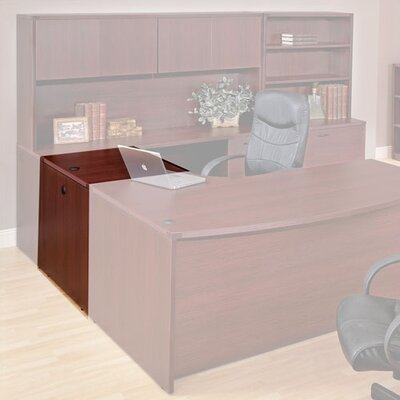 Blairview 29 H x 48 W Desk Bridge Finish: Mahogany