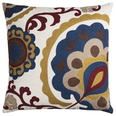 Bloomingdale Cotton Throw Pillow