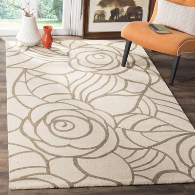 OConnor Hooked Beige/Brown Area Rug