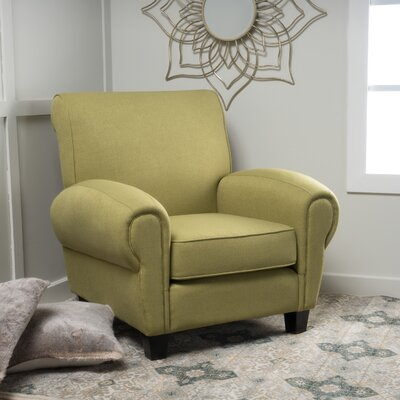 Whittemore Armchair Upholstery: Green