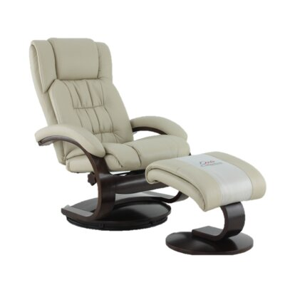 Flathead Lake Breathable Air Recliner Upholstery Color: Beige