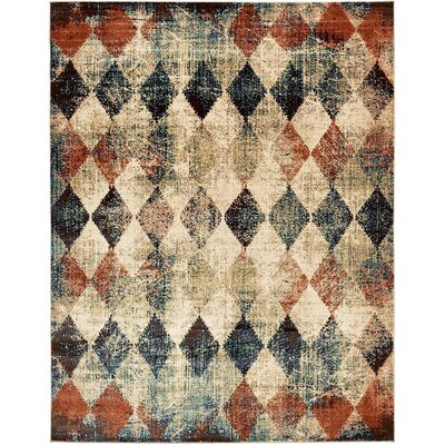 Brew Kettle Beige Area Rug Rug Size: 9 x 12