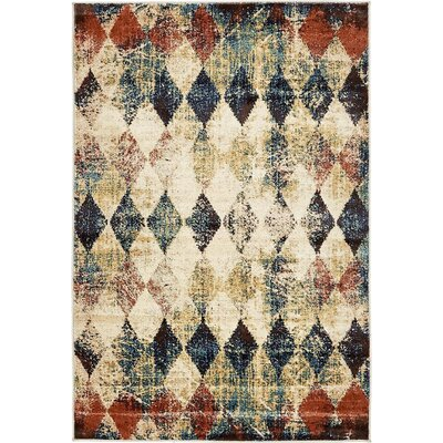 Brew Kettle Beige Area Rug Rug Size: 4 x 6