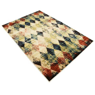 Brew Kettle Beige Area Rug Rug Size: Rectangle 5 x 8