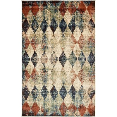 Brew Kettle Beige Area Rug Rug Size: 5 x 8