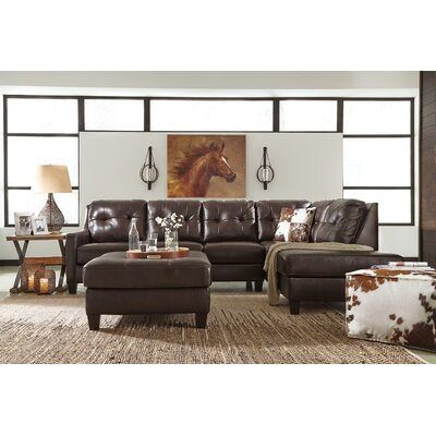 Stouffer Leather Sectional