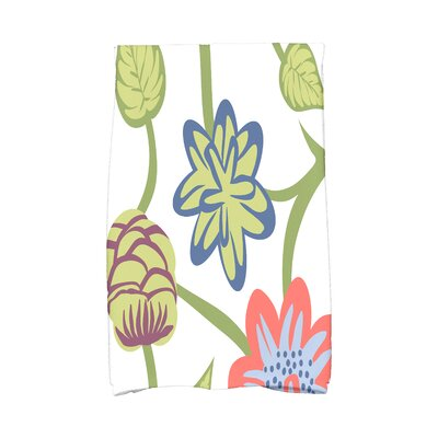 Tropical Hand Towel Color: Coral