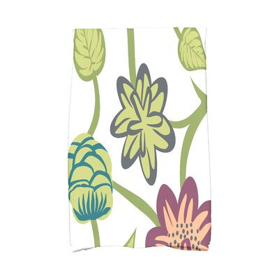 Tropical Hand Towel Color: Purple
