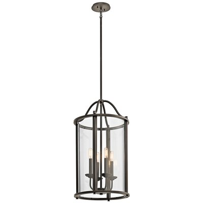 Boulder Creek 4-Light Foyer Pendant Finish: Olde Bronze