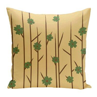 Broad Brook Outdoor Throw Pillow Color: Beige