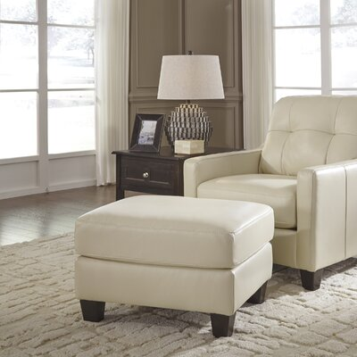 Stouffer Galaxy Leather Ottoman
