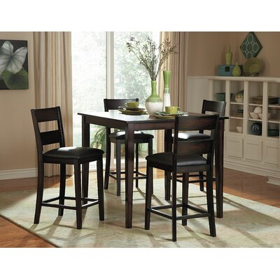 Belknap 5 Piece Counter Height Dining Set