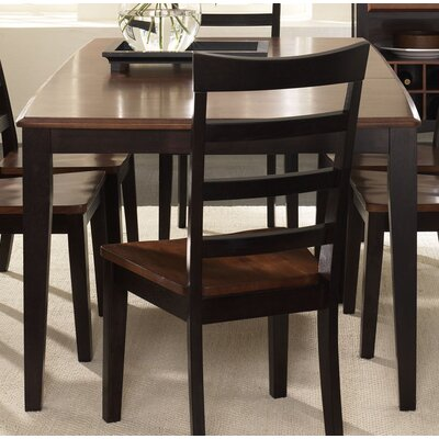 Dixon Extendable Dining Table Finish: Oak / Espresso
