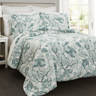 Blarwood 5 Piece Comforter Set Size: King
