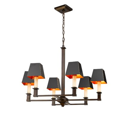 Columbine Valley 6-Light Candle-Style Chandelier