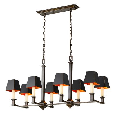 Columbine Valley 8-Light Kitchen Island Pendant