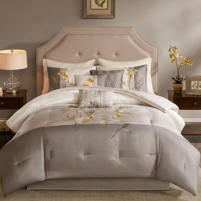Addieville 7 Piece Comforter Set Size: Cal King