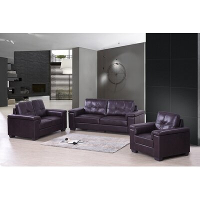 Albers Leather Living Room Collection