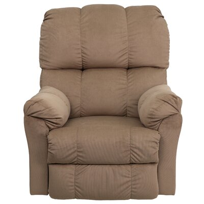 Bowler Top Hat Chaise Recliner Upholstery: Coffee