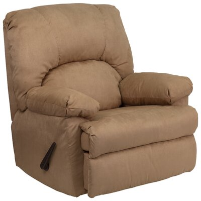 Bowler Chaise Recliner Upholstery: Montana Latte Microfiber Suede