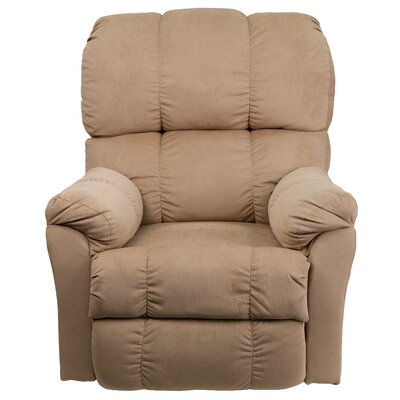 Bowler Microfiber Power Recliner Upholstery: Coffee